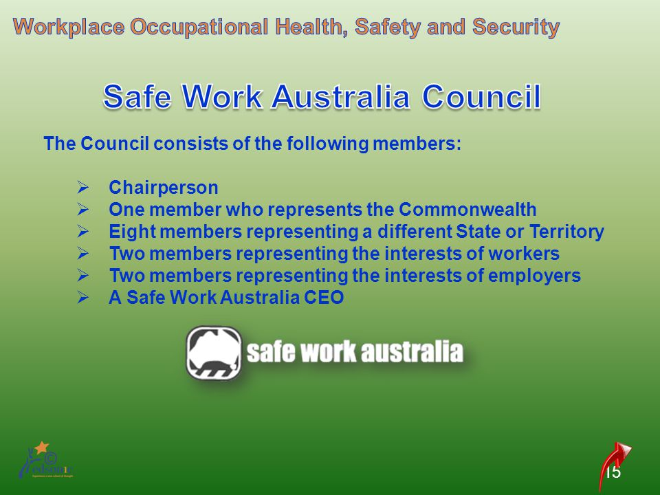 Safe Work Australia Council