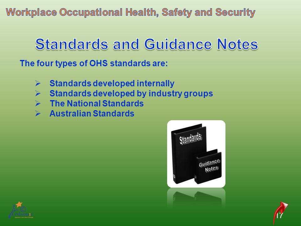 Standards and Guidance Notes