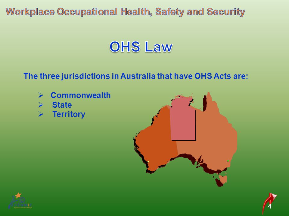 OHS Law Workplace Occupational Health, Safety and Security