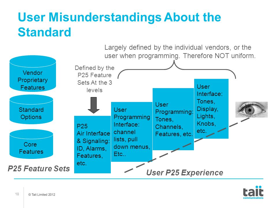 User Misunderstandings About the Standard