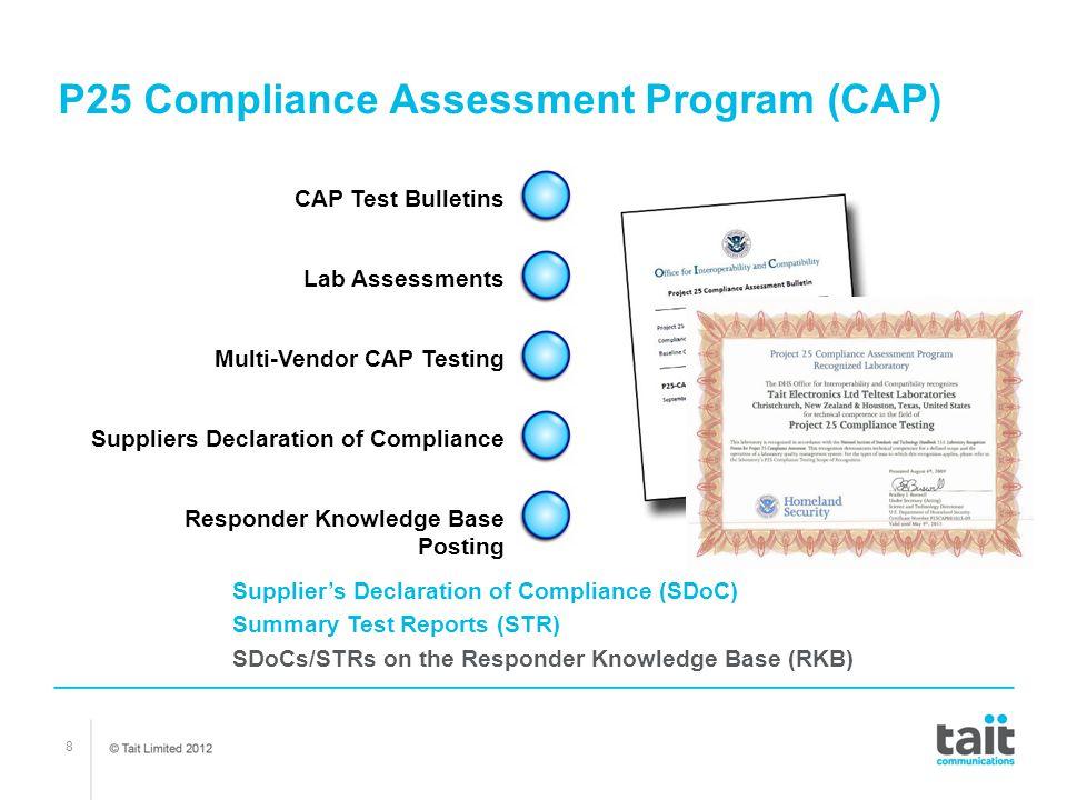P25 Compliance Assessment Program (CAP)