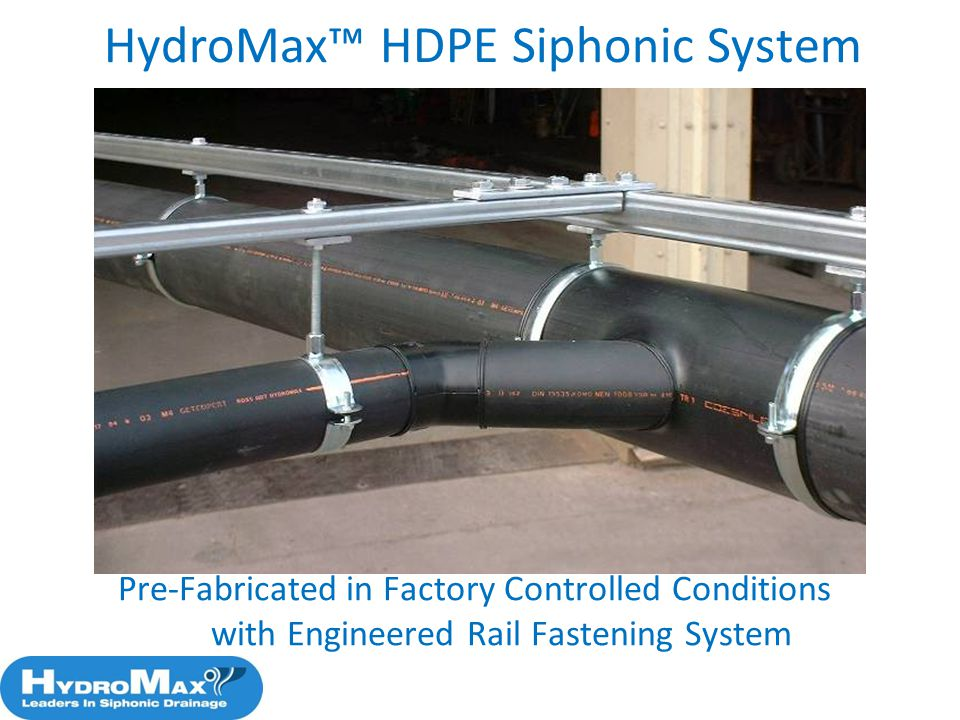 HydroMax™ HDPE Siphonic System