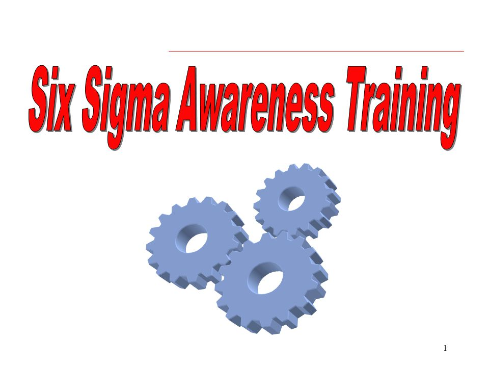Six Sigma Awareness Training Ppt Video Online Download