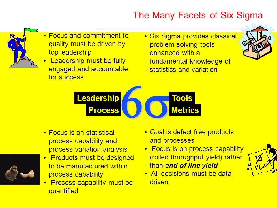 The Many Facets of Six Sigma
