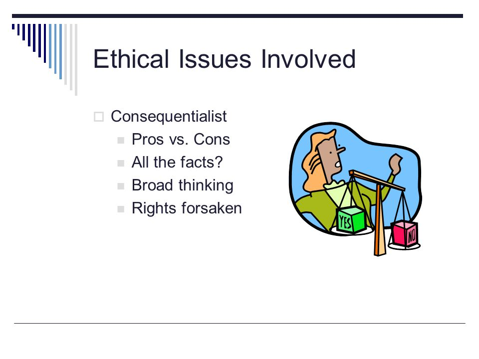 Ethical Issues Involved