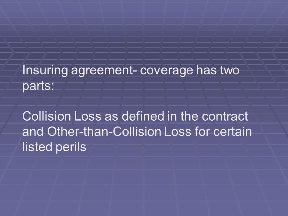 Insuring agreement- coverage has two parts: