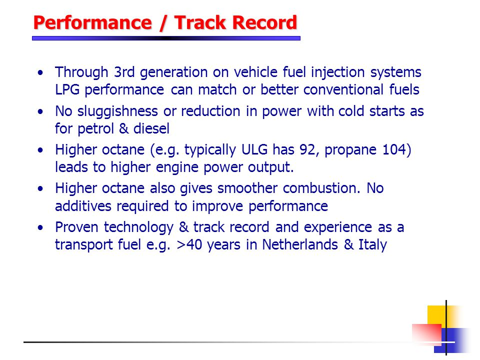 Performance / Track Record