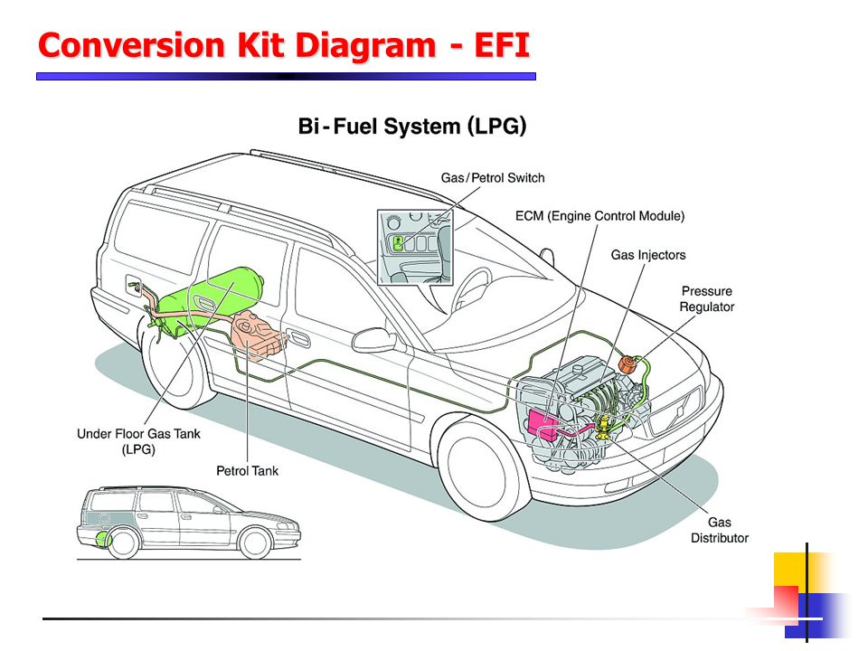 Conversion Kit Diagram - EFI