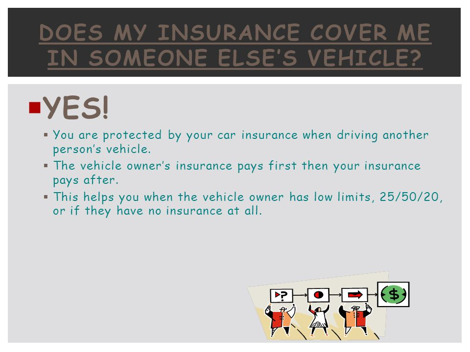 Does My Insurance Cover Me In Someone Else's Vehicle