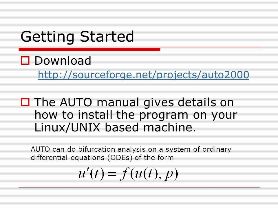 Getting Started Download