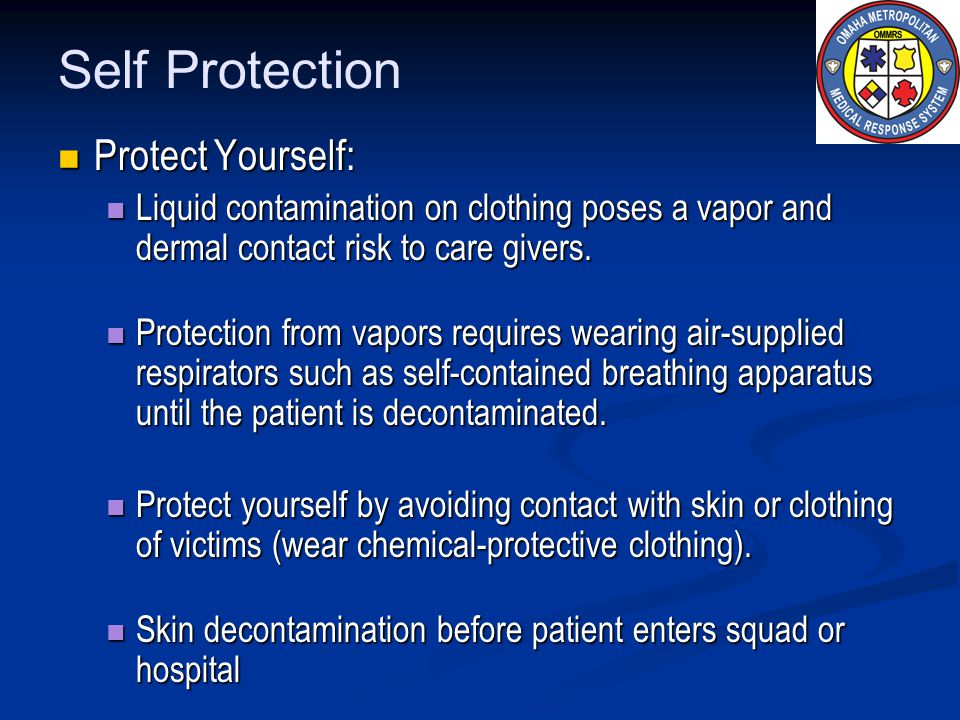 Self Protection Protect Yourself: