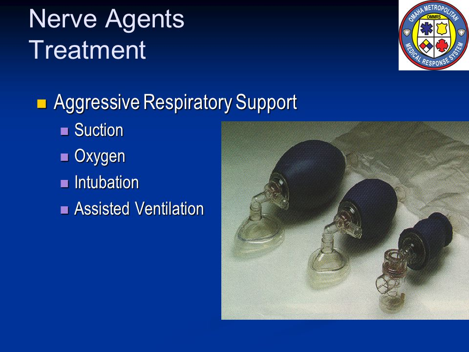 Nerve Agents Treatment