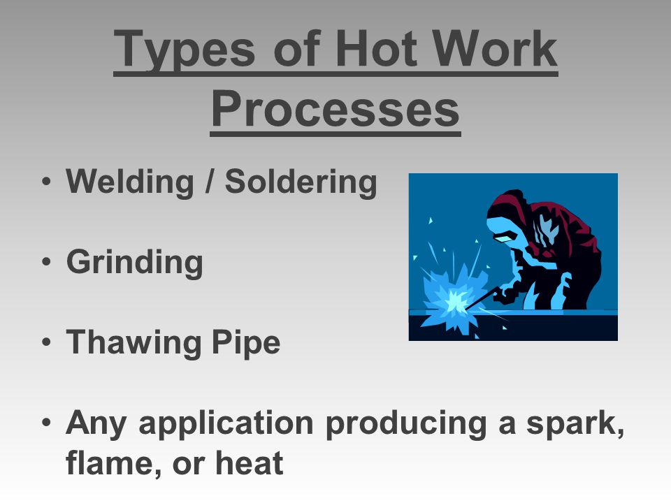Types of Hot Work Processes