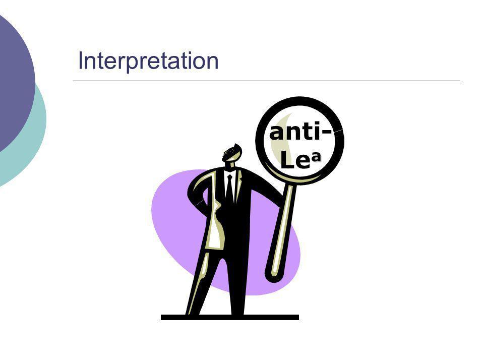 Interpretation anti-Lea