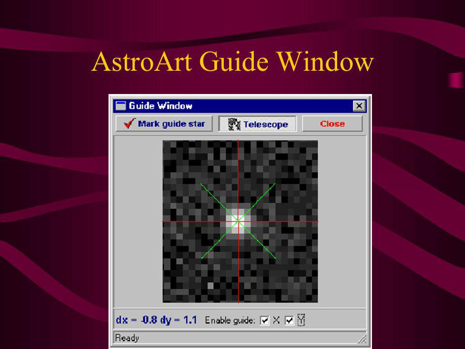 AstroArt Guide Window