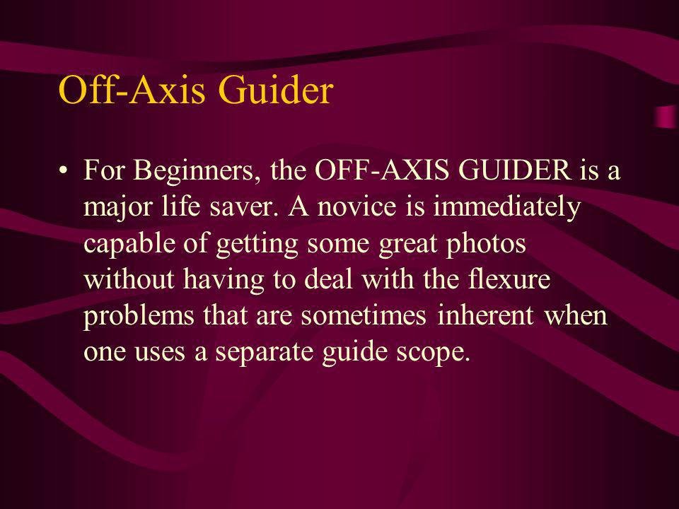 Off-Axis Guider