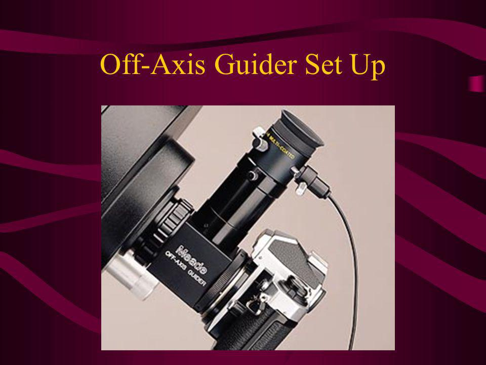 Off-Axis Guider Set Up