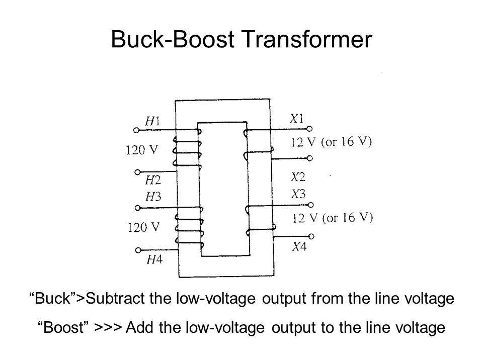 Buck-Boost Transformer