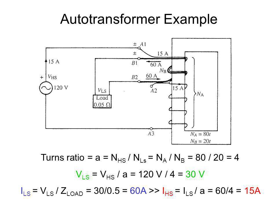 Autotransformer Example