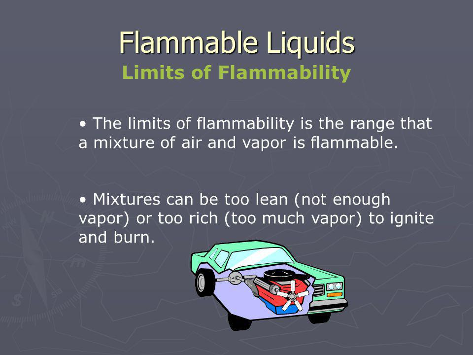 Limits of Flammability