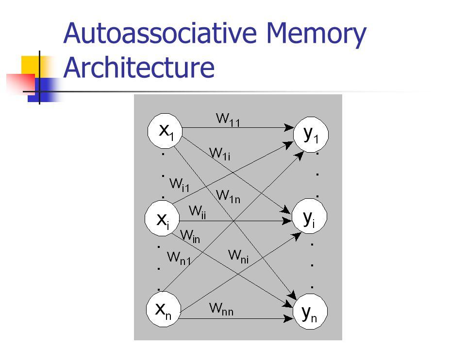 Autoassociative Memory Architecture