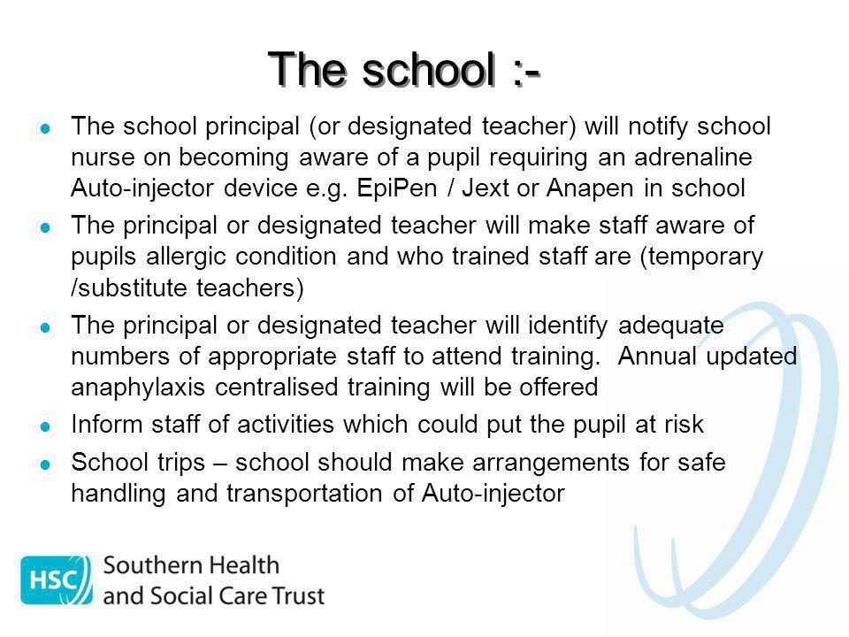 The school :-
