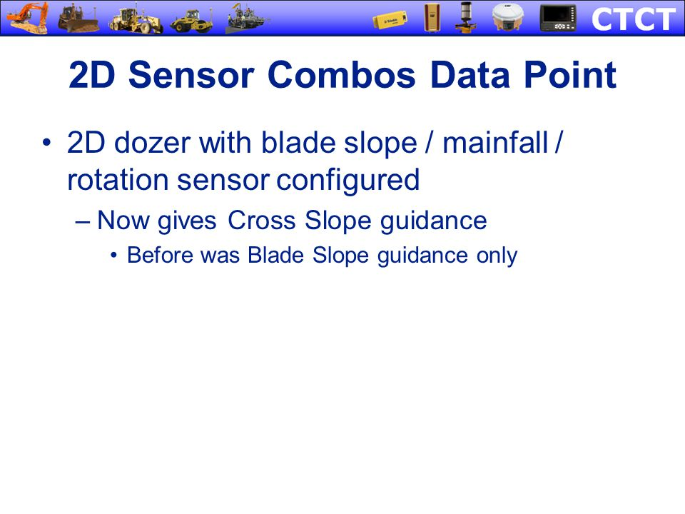 2D Sensor Combos Data Point