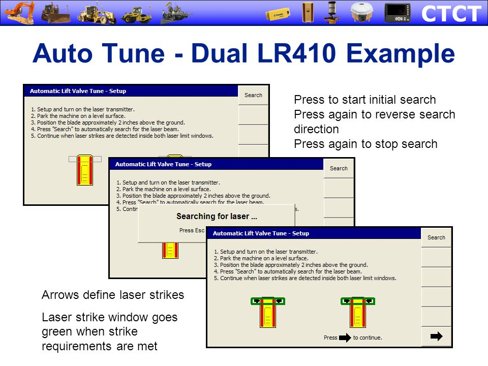 Auto Tune - Dual LR410 Example