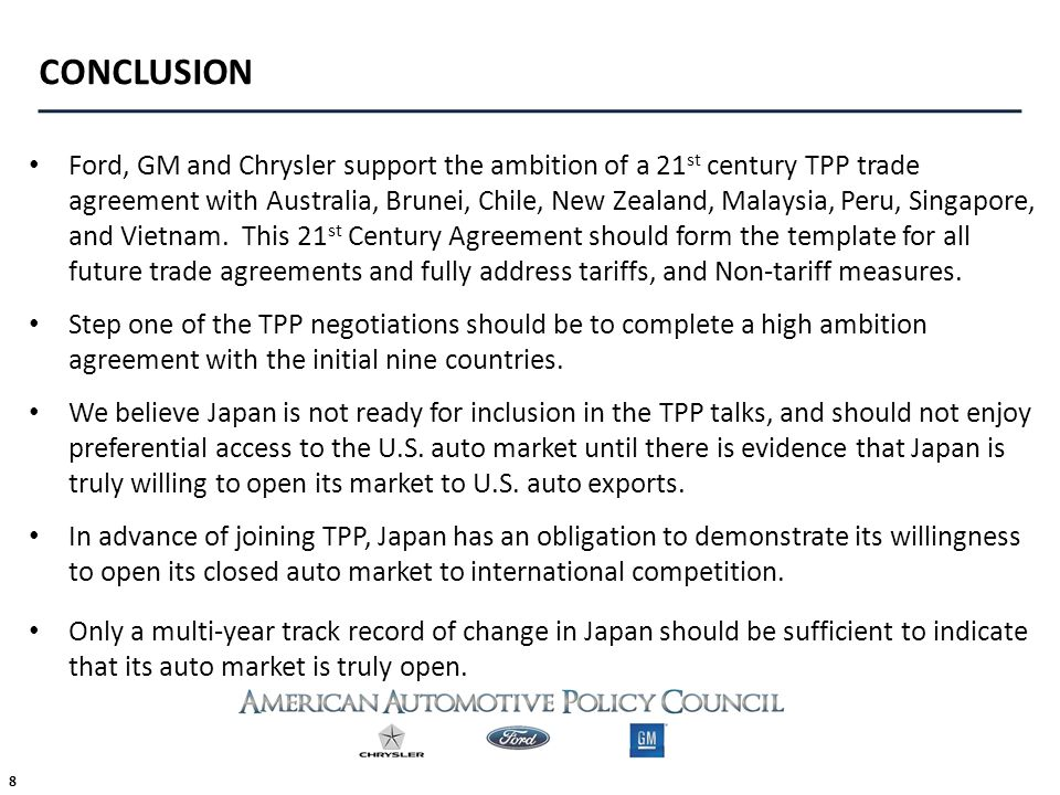 THE TRANSPACIFIC PARTNERSHIP FTA JAPAN ppt download – Trade Agreement Template