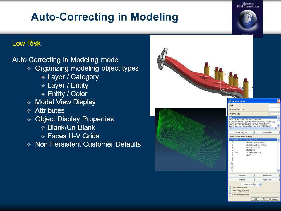 Auto-Correcting in Modeling