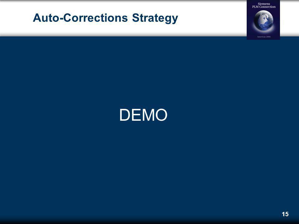 Auto-Corrections Strategy