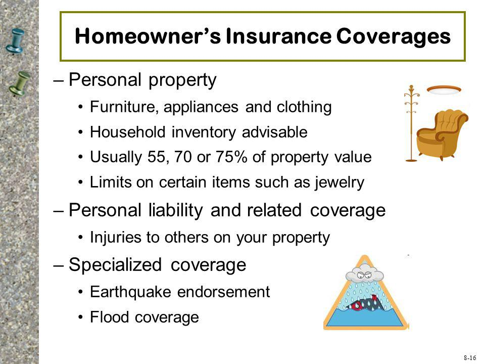 Homeowner's Insurance Coverages
