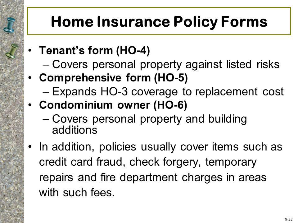 Home and Automobile Insurance - ppt video online download