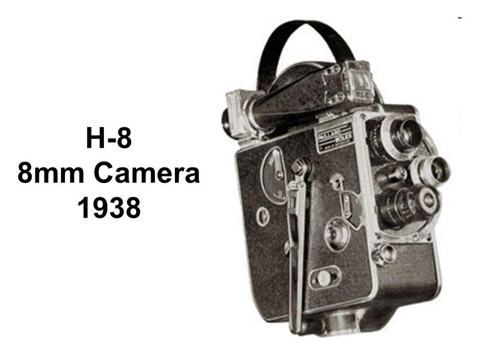 H-8 8mm Camera 1938