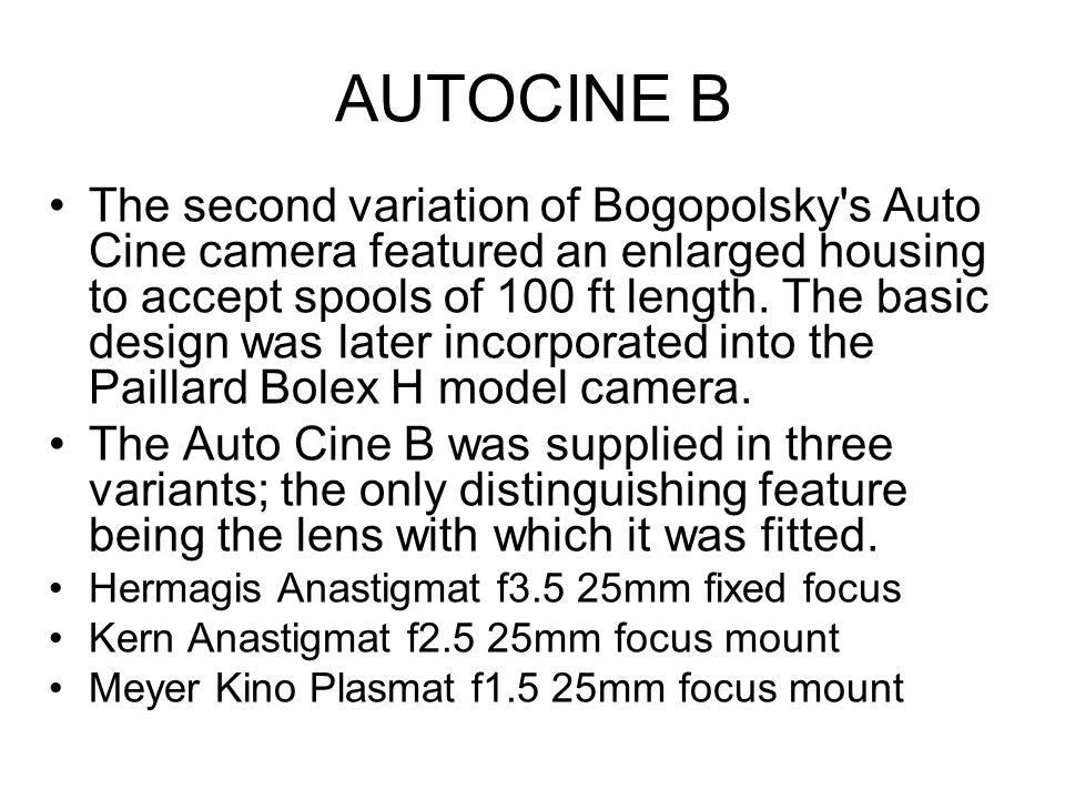 AUTOCINE B
