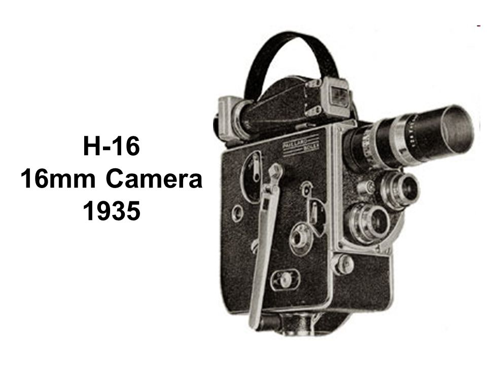 H-16 16mm Camera 1935