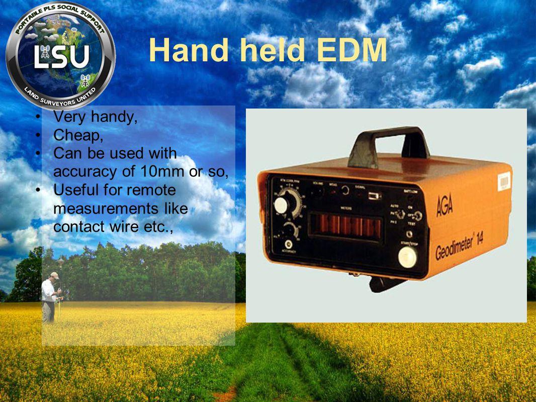 Hand held EDM Very handy, Cheap,