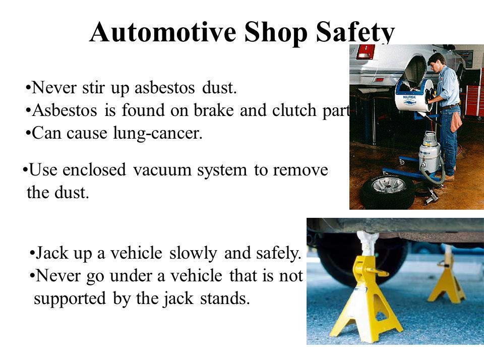 Automotive Shop Safety