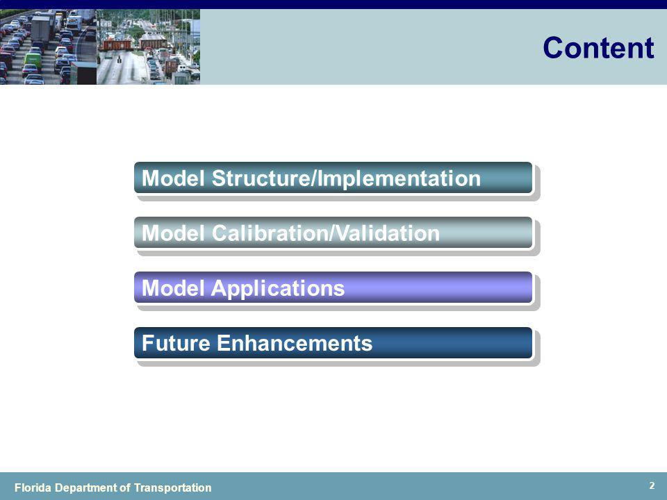 Content Model Structure/Implementation Model Calibration/Validation