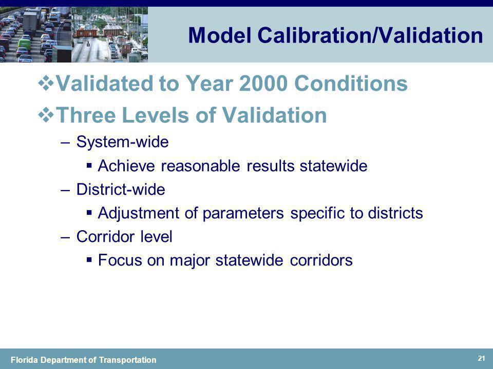 Model Calibration/Validation