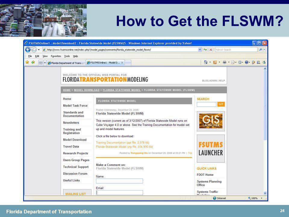 How to Get the FLSWM
