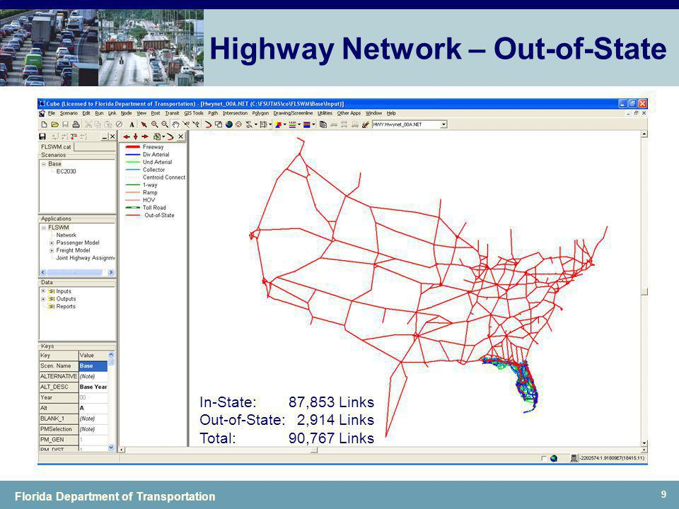 Highway Network – Out-of-State