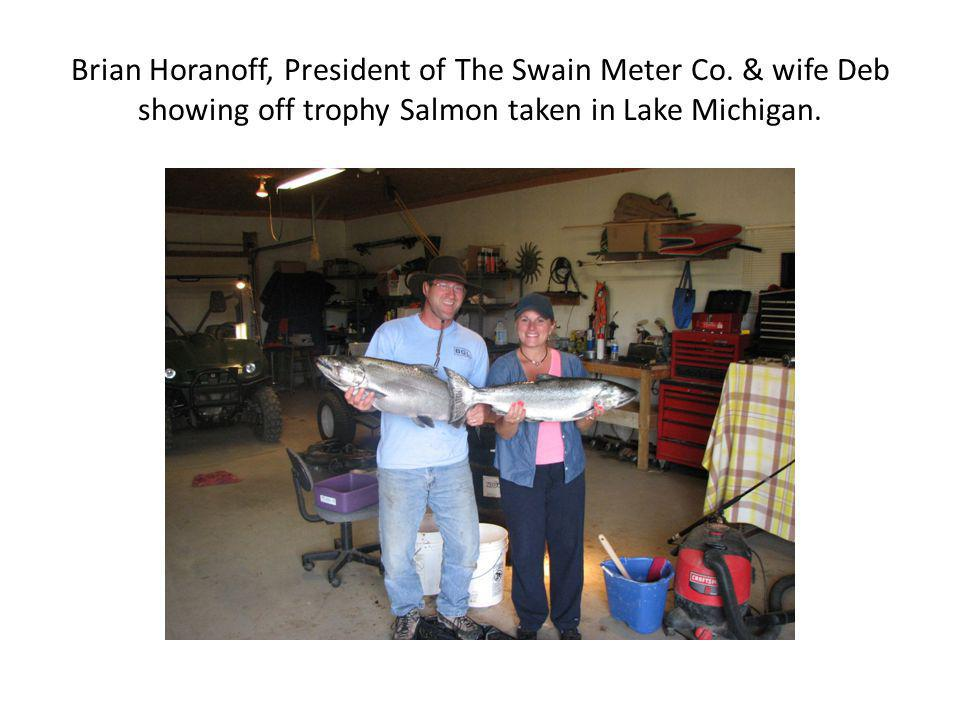 Brian Horanoff, President of The Swain Meter Co