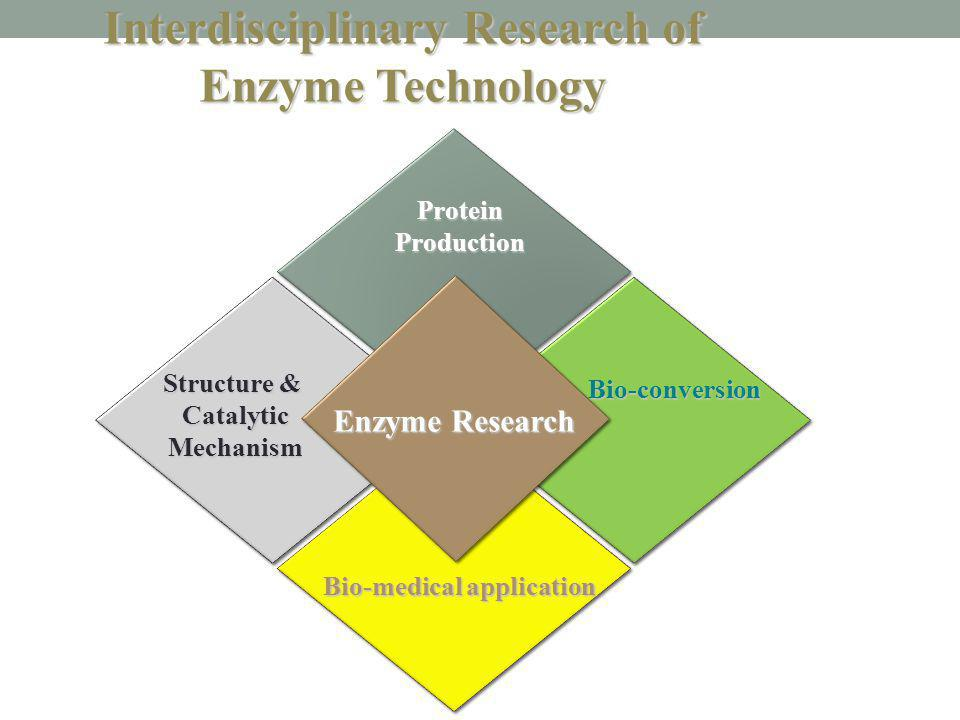Interdisciplinary Research of Enzyme Technology