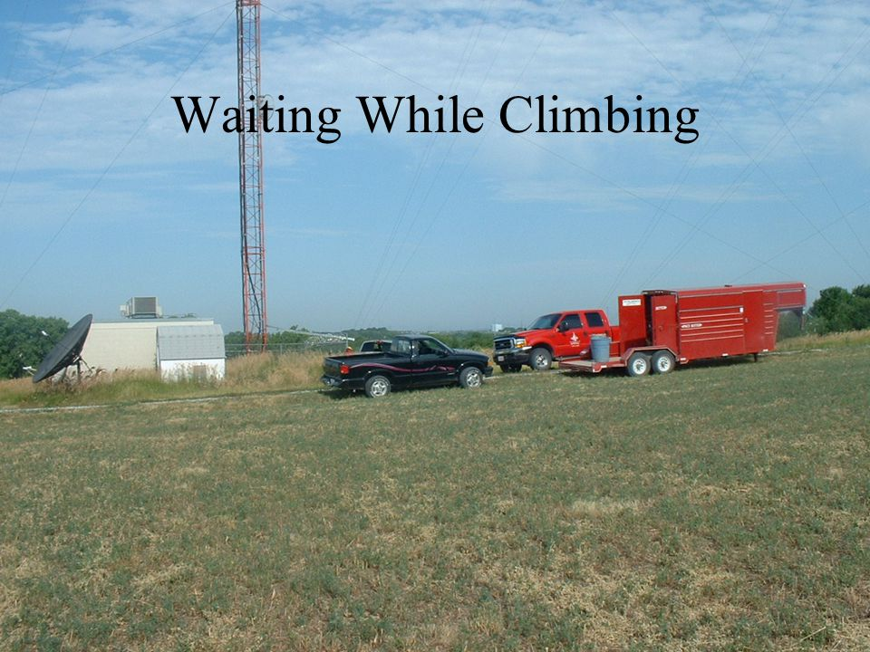 Waiting While Climbing