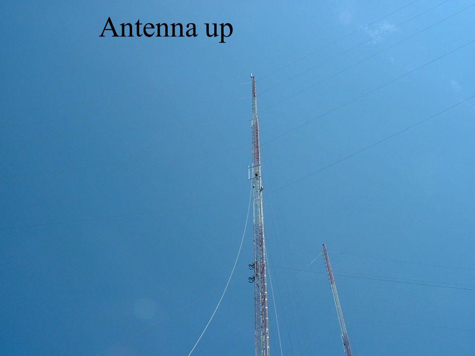 Antenna up