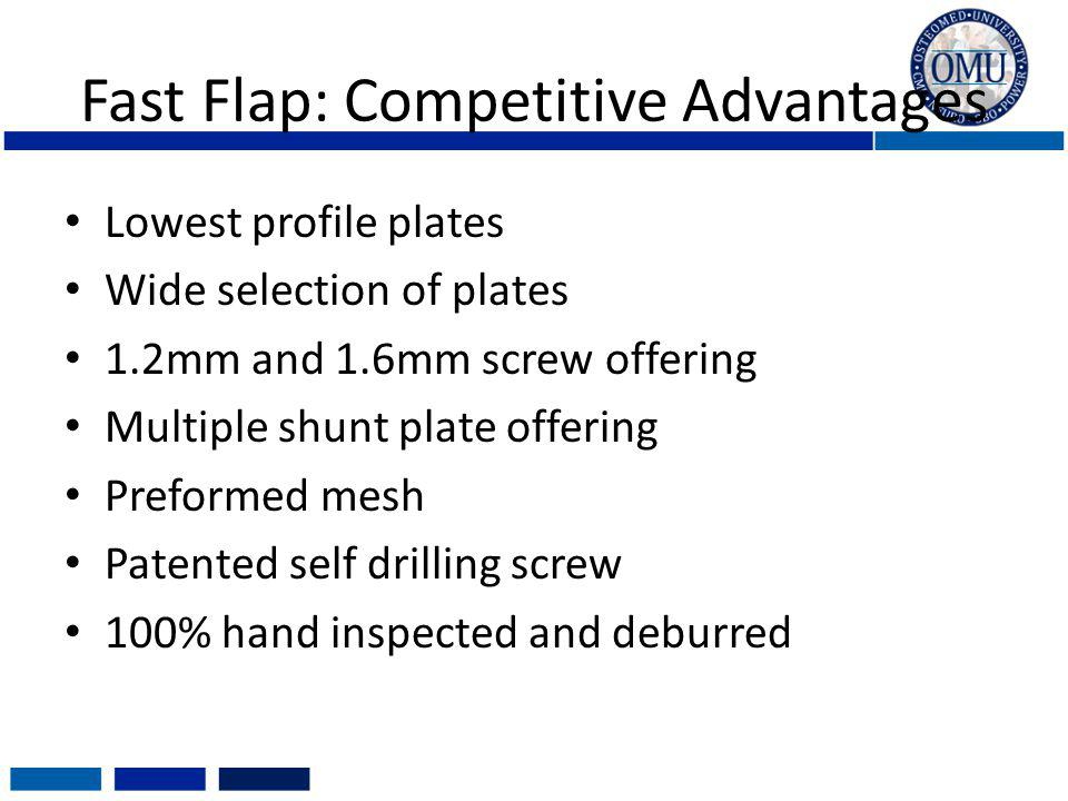 Fast Flap: Competitive Advantages