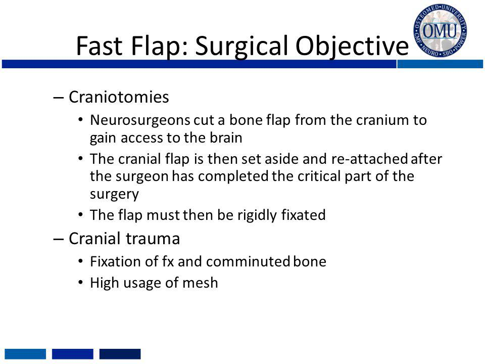 Fast Flap: Surgical Objective
