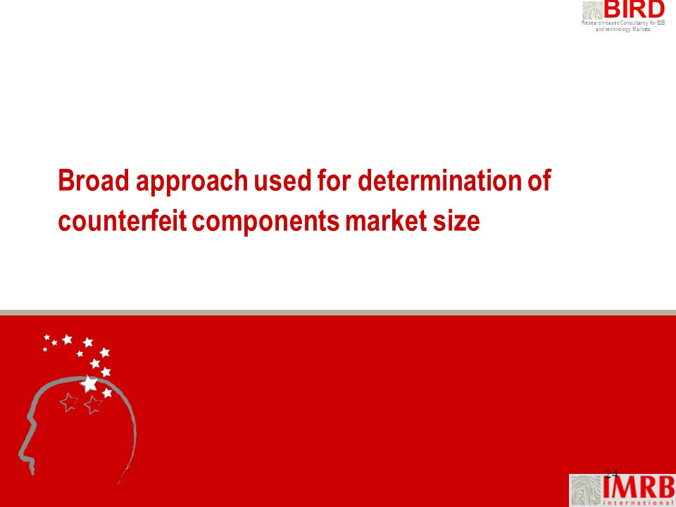 Broad approach used for determination of counterfeit components market size