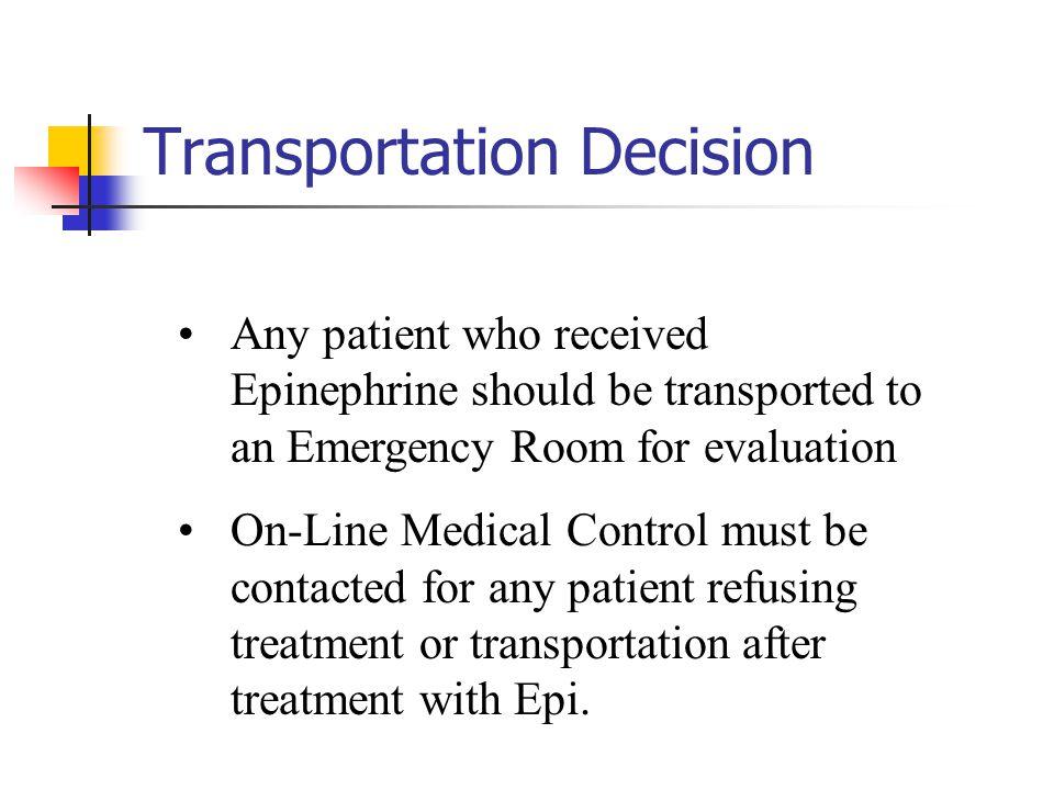 Transportation Decision